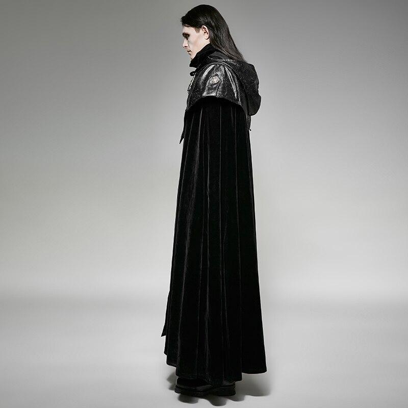 Steampunk-Men-Hoodie-Cape-Long-Cloak-Coats-Punk-Gothic-Halloween-Dark-Vampire-Count-Bat-Cape-Loose