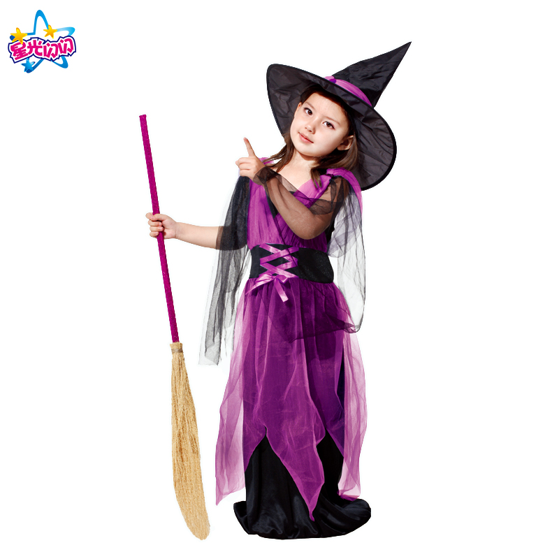 NoEnName Witch Costume For Girls Rollenspel Cosplay Performance - Carnavalskostuums - Foto 4