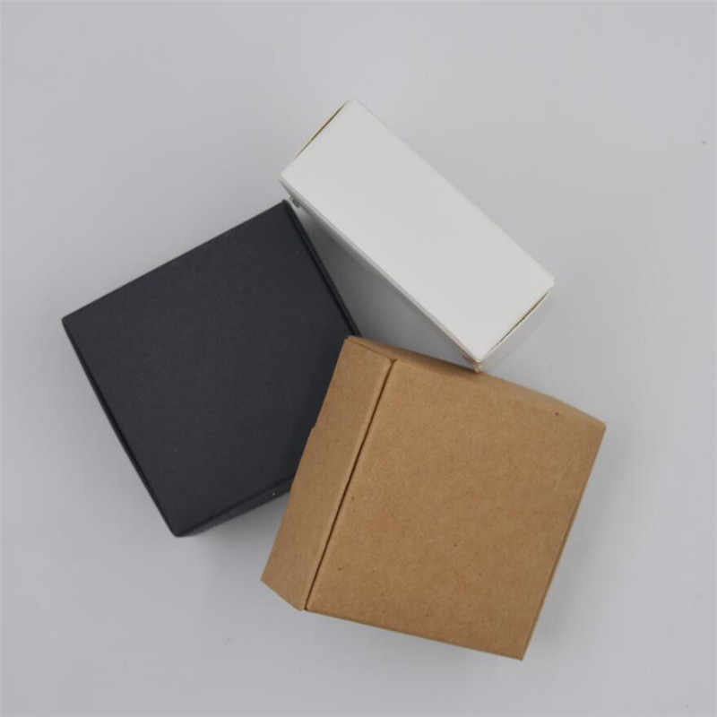 5 pcs/lot  Samll Kraft Paper Box of Cardboard, Handmade Box,  Candy Box for Wedding, Storage Box for Store