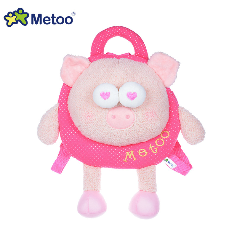 Orignal Metoo popular backpack child school lovely beautiful animal bag for kids