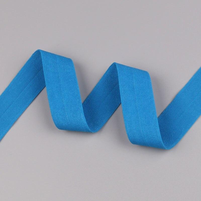 5 ярдов/Лот 20 мм ширина 34 цвета эластичная лента использование для diy аксессуары и одежда галстук лента для волос - Цвет: 30