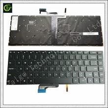 Original New English Backlit Keyboard for Xiaomi Mi notebook Pro 15.6 inch air laptop 9Z.NEJBV.101 NSK-Y31BV 171501 Black US new free shipping for samsung np700z5a np700z5a s06us np700z5b w01ub laptop keyboard with backlit us keyboard version black