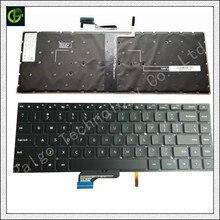 Оригинальный новый английский клавиатура с подсветкой для сяо mi notebook Pro 15,6 дюйма air ноутбук 9Z. NEJBV.101 NSK-Y31BV RU черный США
