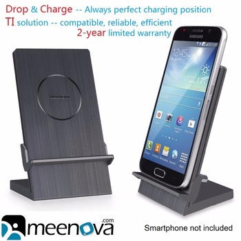 Meenova Ultimus Qi Wireless Charging Dock for Galaxy S9/Edge Plus, S8, Note 9/8, Google Pixel 3XL, iPhoneXS Max, Blackberry Priv
