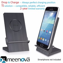 Ultimus Qi Wireless Charging Dock for Galaxy S6/Edge/Edge Plus, S5, Note 5/4, Google Nexus 6/5/4, Nexus 7 (2013), LG G4/G3 Nokia