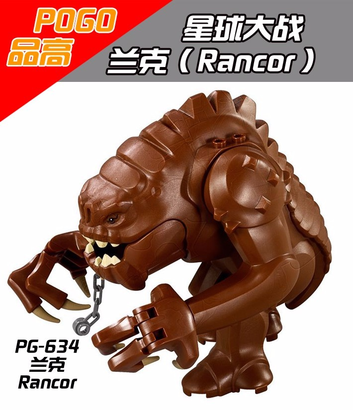3PCS PG634 Star Wars Legacy Collection Jabba Rancor Building Block Legoe Bricks Action DIY Collection Best
