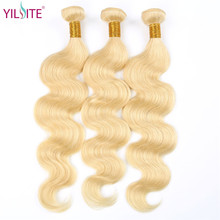 YILITE 613 Honey Blonde Bundles Body Wave Indian Hair Weave Bundles 100% Remy Hair Extensions 1/3/4 Bundles 10 to 26 Inches уличный светильник fumagalli globe 250 g25 156 000 wye27