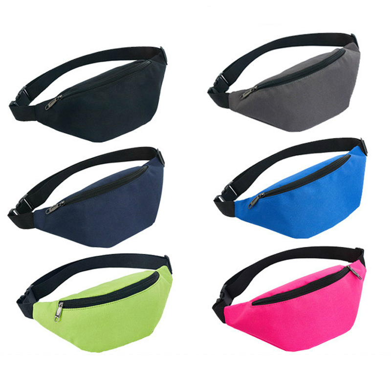 Waist Bag Belt Fashion Waterproof Chest Handbag Unisex Fannypack Multi-function Mobile Phone Bag Outdoor Sports Wholesale