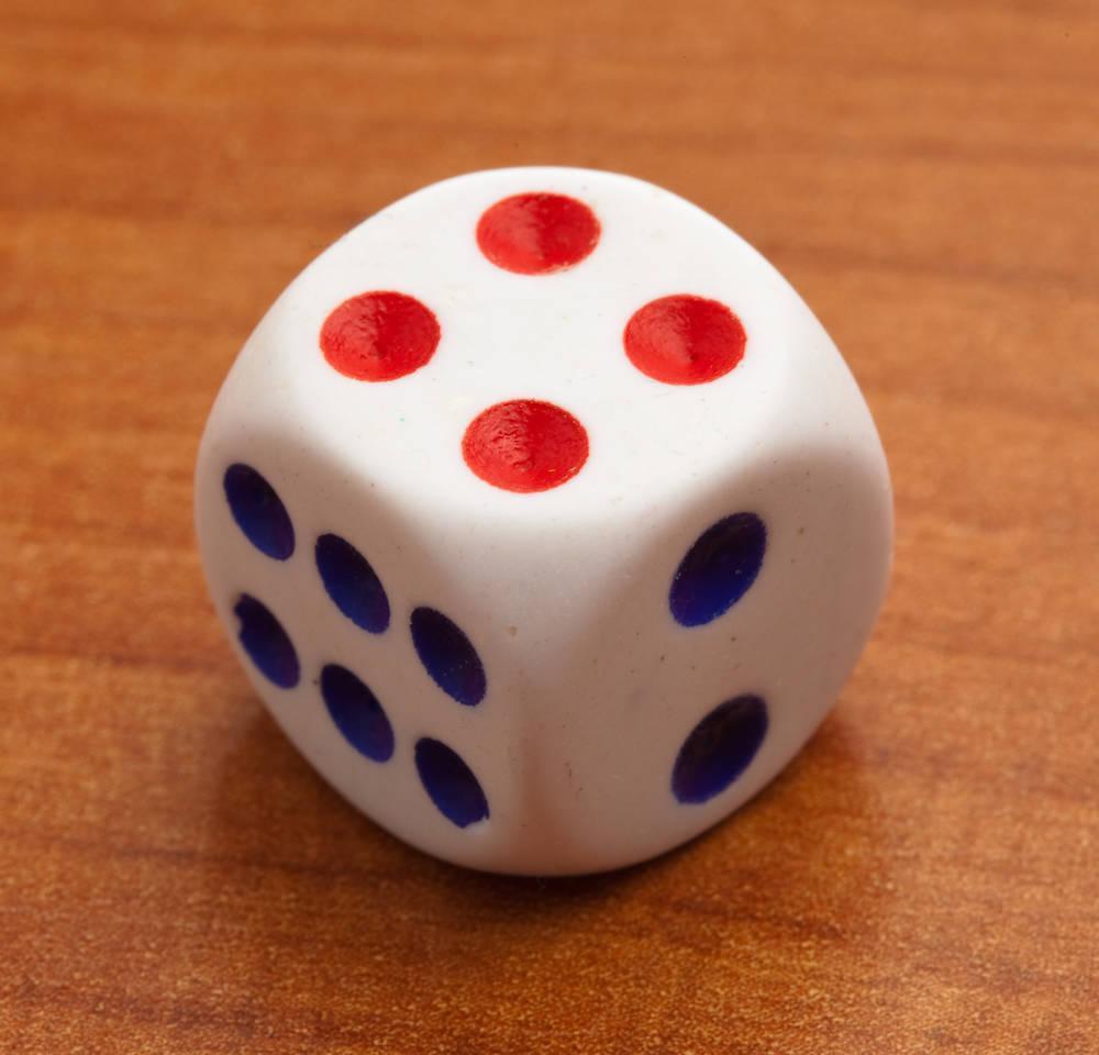 Автоматическая Магическая игра в кости, магический трюк, магический трюк