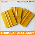 100pcs/lot  3m squeegee  pp soft car wrap  tools squeegee  car vinyl wrapping tools car square squeegee tool A01G