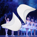 1Pair Silica Gel Toes Pedicure Device Soft Ballet Pointe Dance Shoes Pads For Straighten Bent Toes Cap Cover Foot Care Protector