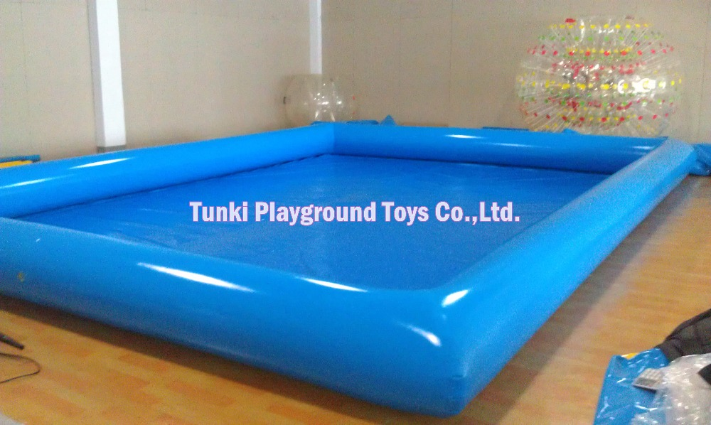 6*8m inflatable swimming water pvc pool kids playing pool