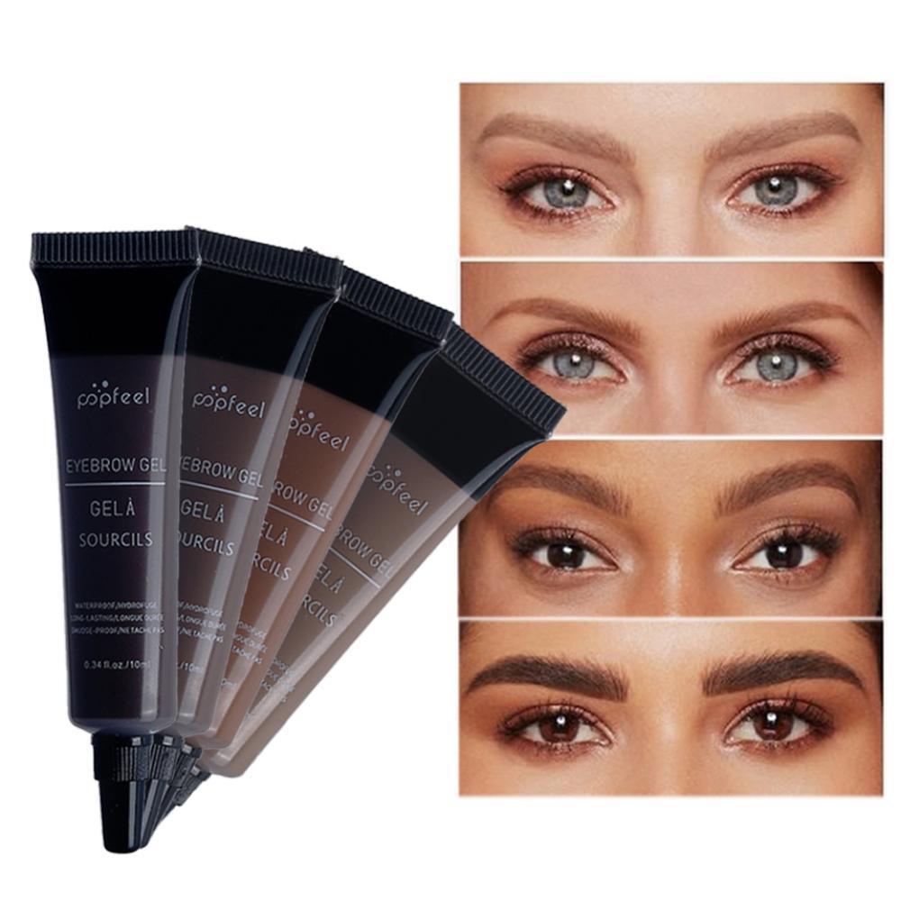 Easy To Color Waterproof Eyebrow Tattoo Pen Brush Kit Smudge-Proof Eyebrow Cream Makeup
