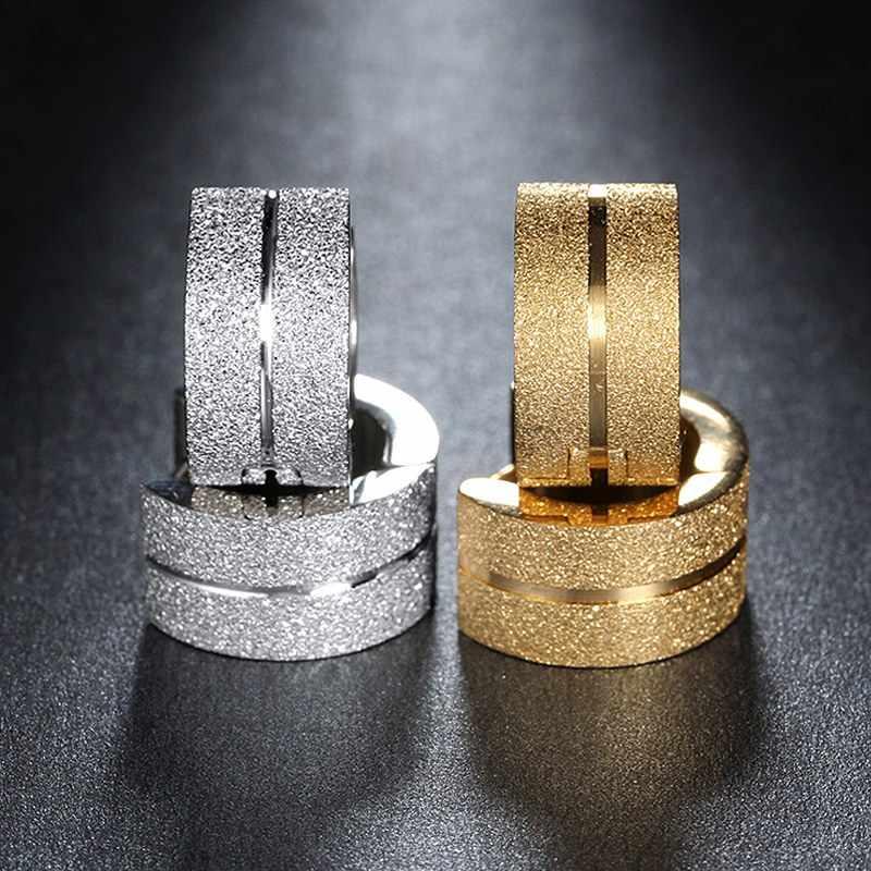Đồ Trang Sức nhỏ gọn Bông Tai Thời Trang Cho Phụ Nữ Người Đàn Ông Thép Không Gỉ Đồ Trang Sức Brincos 2018 Cubic Zirconia Stud Bông Tai bijoux