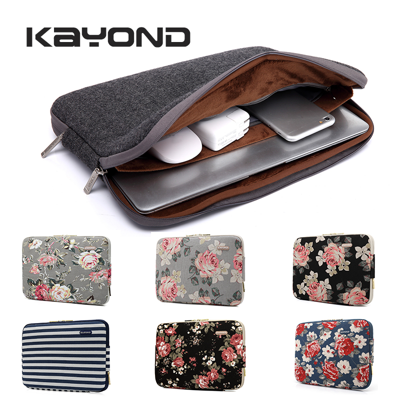 Laptop Bag Sleeve for 11.6 13.3 14 15.4 inch Bohemian Style Women Notebook Bag Laptop Cover Case for Macbook Air Pro 13 Xiaomi