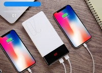 New 20000mAh Power Bank Battery Pack Backup Charger LED Display power bank for Romoss iPhone Huawei Type C+ Apple+Android