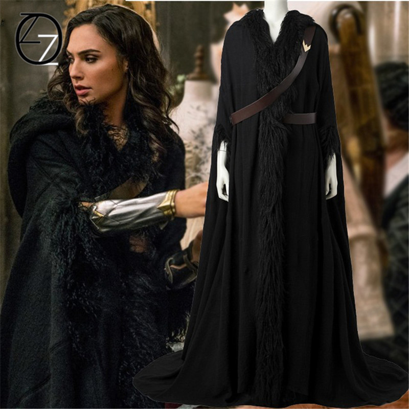 Wonder Woman Cosplay Costume Diana Prince Cosplay Full Set -4328
