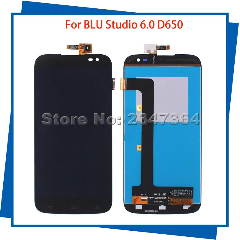 For BLU Studio 6.0 HD D650 D650A 650 Mobile Phone LCDs Touch Screen 100% Guarantee Touch Panel Free Tools