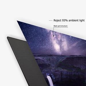 """Image 2 - ALR Umgebungs Licht Ablehnung Projektion Bildschirme 80 """"Ultra dünne grenze Rahmen Spezialisieren für Optoma Xiaomi UST projektoren"""