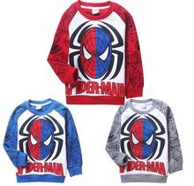Rushed Promotion Regular Character Minnie Spongebob Polerones Children's Clothes Autumn And Winter Sweatshirts Spider-man