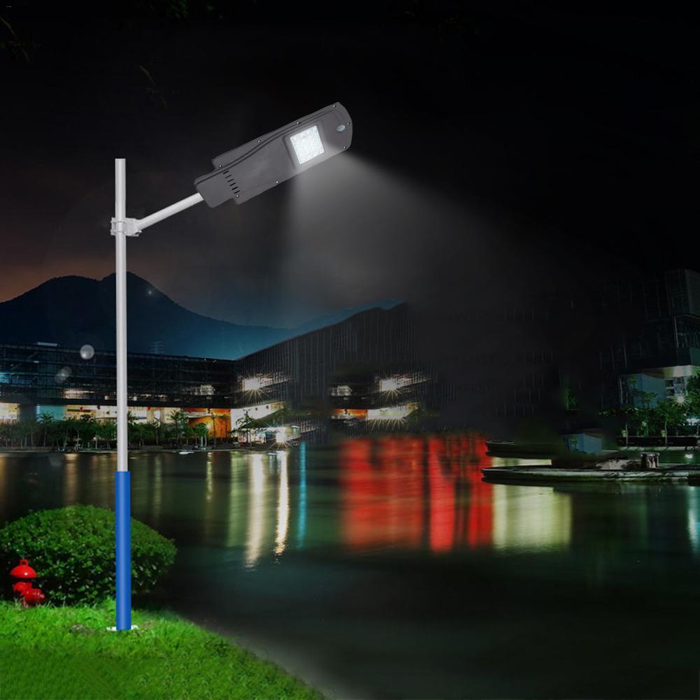 20W LED Solar Street Light Outdoor Waterproof IP65 Radar