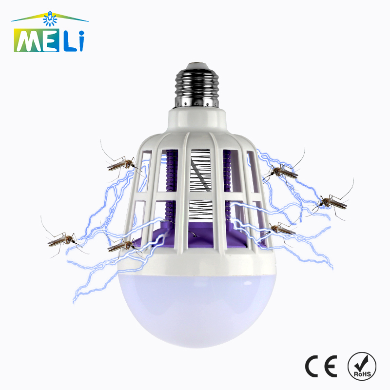 Newest Led Lamp Bulb 220v Bug Zapper Mosquito Killer Bulb