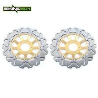 BIKINGBOY для Suzuki GSXR 600 92 93 GSXR 750 88 95 GSXR 1100 89 92 GSXR750W 91 95 GSXR1000W 93 00 передние тормозные диски роторы