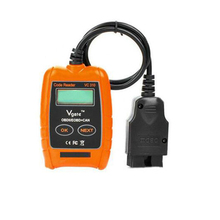 Free shipping 2016 New Arrival high grade Vgate VC310 LCD Car Auto OBD2 OBDII EOBD Code Reader VC310 Scanner Car fault detector