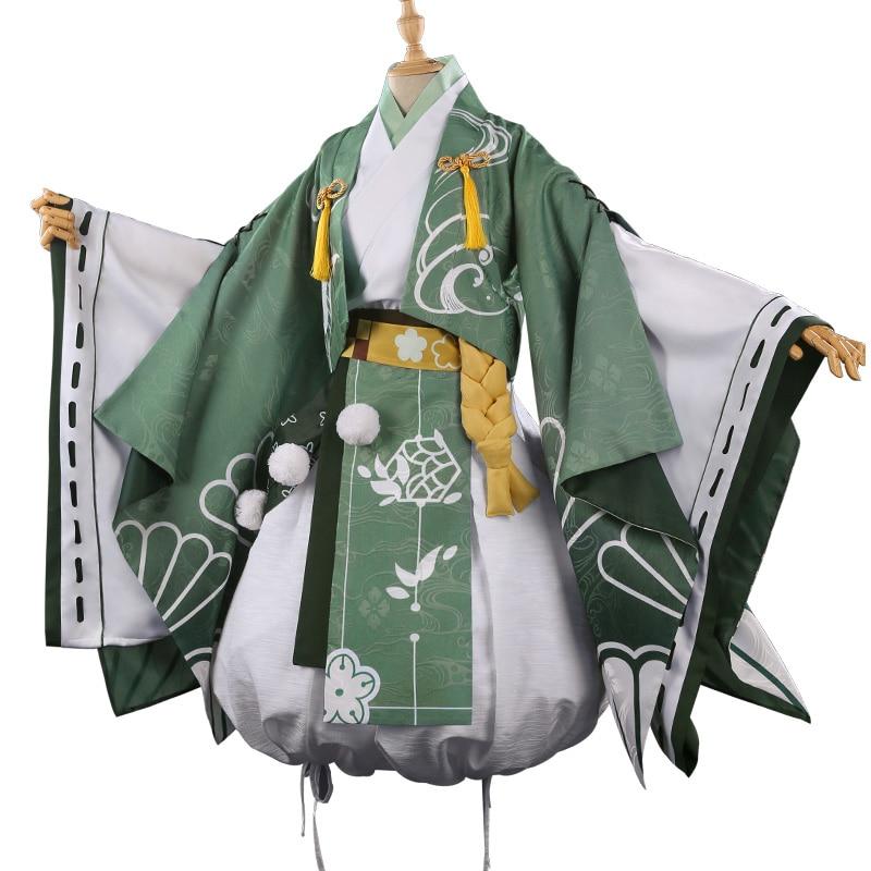 Anime! My Hero Academia Midoriya Izuku Hanamatsuri Kimono Dress Uniform Cosplay Costume For Women 2018 New Free Shipping