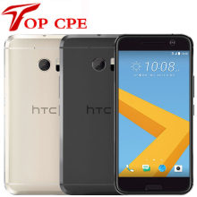 Htc 10 m10 gps original 4gb ram 32gb, rom quad core snapdragon 820 com câmera de 12mp, tela 5.2