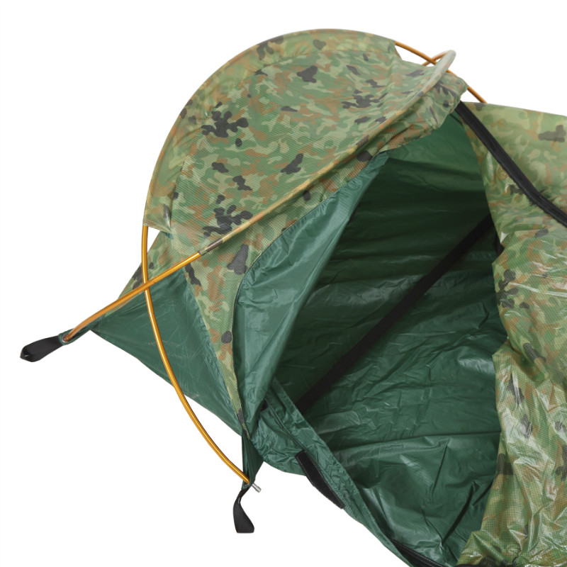 OneTigris Solo Bivvy Tent Waterproof Cover for Sleeping Bag Ultralight One Man Bivvy Shelter for Backpacking Hiking C&ing  sc 1 st  Adventure and Traveling & OneTigris Solo Bivvy Tent Waterproof Cover for Sleeping Bag ...