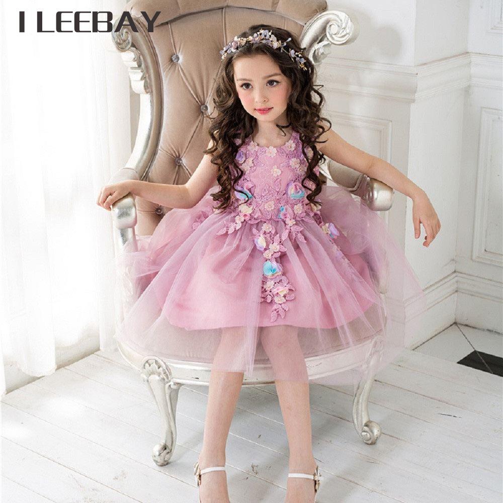 Summer bridesmaid lace dresses for children flower girl wedding summer bridesmaid lace dresses for children flower girl wedding dress kids clothes toddler girl bow performance vestido infantil in dresses from mother ombrellifo Gallery