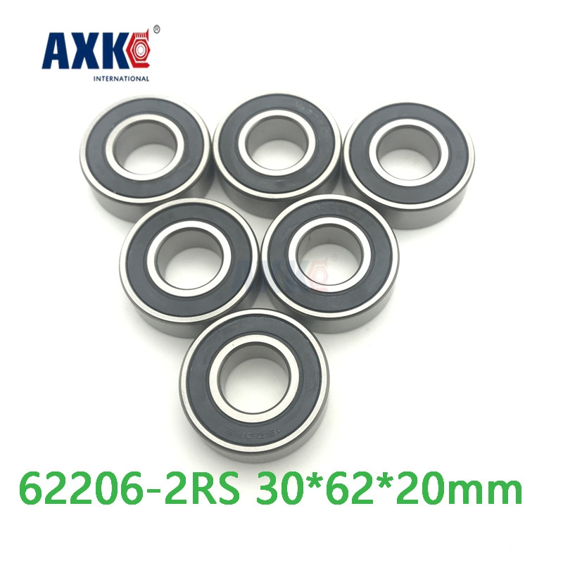 Axk 62206rs Bearing 62206 2rs 180506 62206-2rs Deep Groove Ball Bearing 30*62*20mm 100pcs 6700 2rs 6700 6700rs 6700 2rz chrome steel bearing gcr15 deep groove ball bearing 10x15x4mm