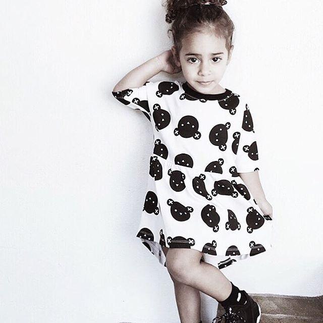 24a266d9cd87b 2019 été style bébé filles robe dessin animé ours robe enfants fête robe  décontracté princesse robe