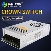 Switching Power Supply 250W 24V 10A Driver Switch Cnc Router Parts Factory Supplier
