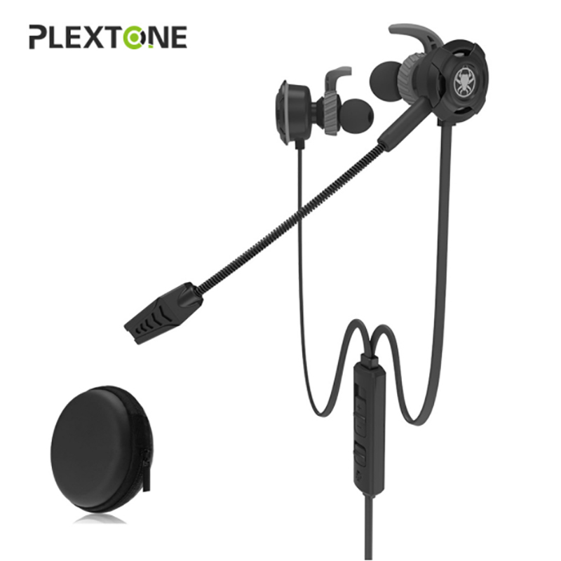 100% Original Plextone G30 PC Gaming Headset With Mic In-Ear Stereo Bass Noise Cancelling Earphone With Mic For Phone PC Laptop