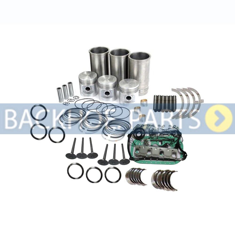 Overhaul Rebuild Kit STD for Kubota D1105 D1105T Engine KX41 KX91 2 KX61 2 Excavator|Engine Rebuilding Kits| |  - title=
