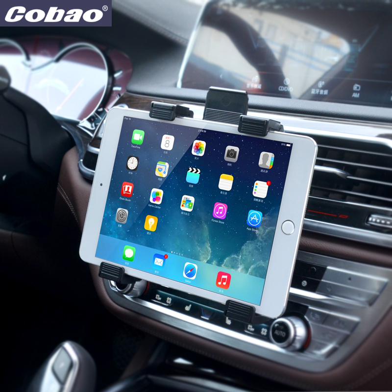 Fit 7 8 9 10 11 inch car air vent tablet pc pad holder stand support for ipad 2 3 4 5 mini air - Notepad holder for car ...