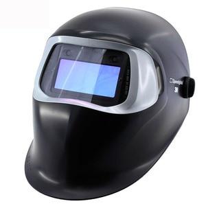 3-M Speedglas 100V bouclier de soudage Auto-assombrissant MMA MIG/MAG/TIG/SMAW Kits de protection
