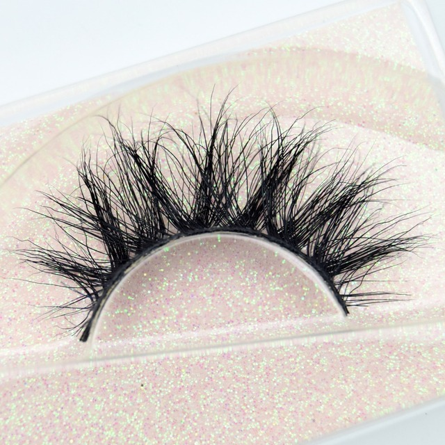 Visofree Mink Eyelashes 100% Cruelty free Handmade 3D Mink Lashes Full Strip Lashes Soft False Eyelashes Makeup  Lashes E11 4