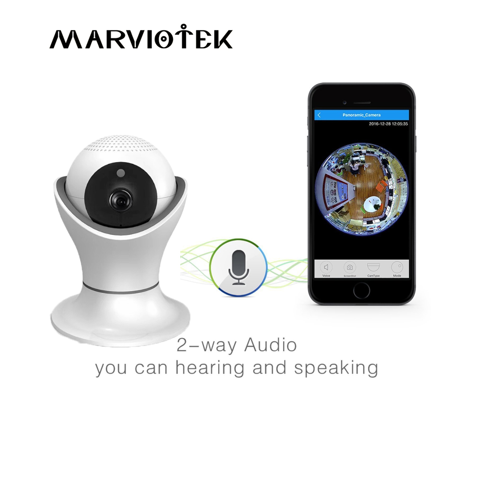 Baby monitor 1080P Full HD IP Camera Wireless Baby Cameras WiFi Home Surveillance Security Camera System with iOS/Android Pan
