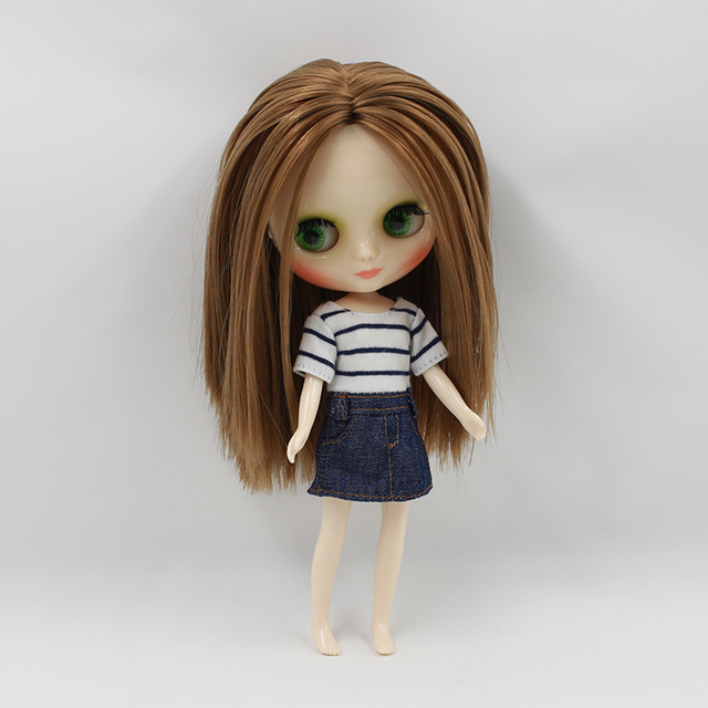 ICY Middie Blythe Doll Colorful Hair 20cm