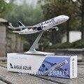 AVIONES MODELO 1:200 AIGLE AZUR AVEC SHARKLETS AIRBUS A320 AVIÓN AVIÓN de RÉPLICA