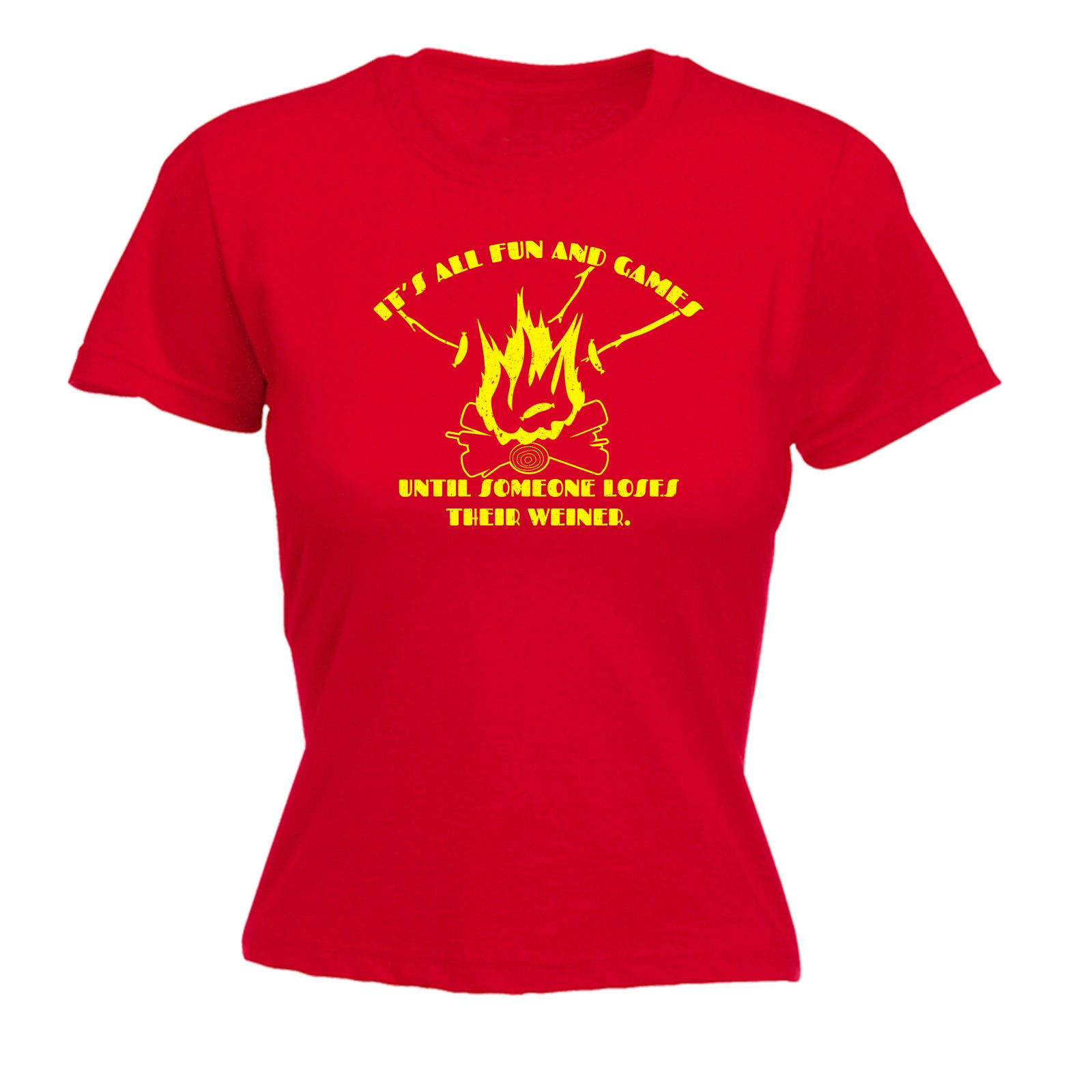 Design t shirt games online - Its All Fun And Games Weiner Womens T Shirt Mothers Day Naughty Funny Womens Tops