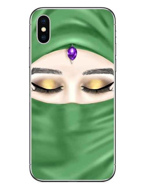 Islamic Eyes Luxury Hard Phone Cases for iPhone  1