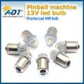 100 pcs sem fantasmas AC 12 V Várias cores LEDs Piranha 1156 Base de Baioneta Ba15s #89 lager Flasher máquina de jogo de pinball levou partes