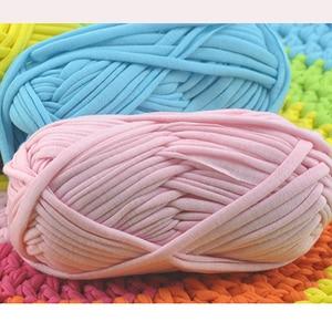 Wholesale lot of 2 balls yarn knitting 200g Ploster Silk yarn thick yarn for weaving crochet thread 8-10mm Crochet