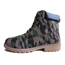 Winter Boots Men Winter Shoes Camouflage