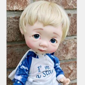 Image 2 - Dollbom Ollien 1/8 בובת BJD עם Secretdoll יוניסקס גוף שרף דמות YoSD תינוק צעצועים