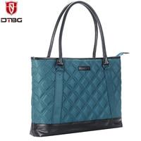DTBG Fashion Women 15 6 Inch Water Resistant Laptop Bag Shockproof Handbag Business Briefcase PC Computer